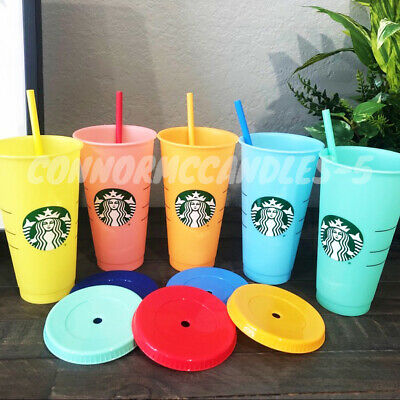 Starbucks COLOR CHANGING Cold Cups SINGLE CUPS & 5 Pack SUMMER 2019 Venti Cups