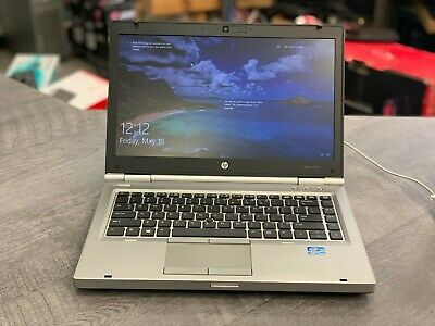 HP ELITEBOOK 8470p Core i5 CPU, 120GB Solid State, 4GB RAM, WIN 10 Pro, DVDRW