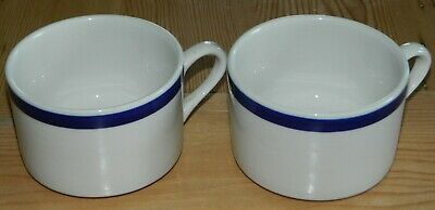 2- Vintage 1970's Jackson China American Airlines Coffee/Tea Cups