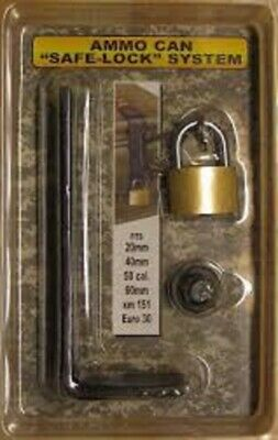 Ammunition Lock System can safely-fits 20 mm 40 mm 50 Cal 60 mm XM 151 and Euro