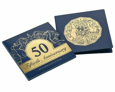 10 x 2019 Royal Australian Mint UNC Set 50th Anniversary of 50c Coin Free Post