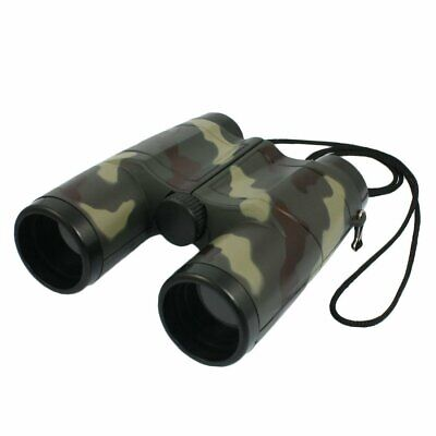 SODIAL(R) 4X 31mm Lens Camouflage Pattern Binocular Telescope For Child + N V0U7
