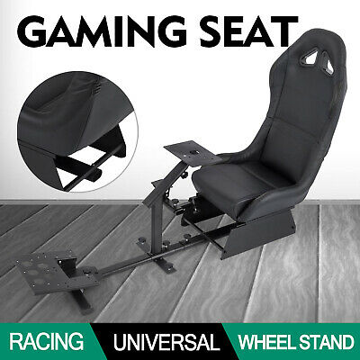 Racing Simulator Cockpit Wheel Stand For Logitech G29 G25 PS4 Foldable HOT
