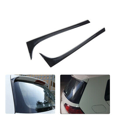 2pcs Plastic Paint Rear Spoiler Wings Car Model for Volkswagen Golf 7 MK7 14-18