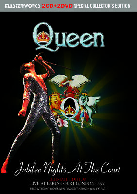 Queen / Jubilee Nights At The Court Ultimate Edition 2Cd+2Dvd *F/S