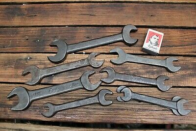7 Vintage GMH Holden General Motors Tool Kit Spanners Wrench