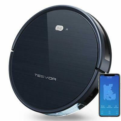 Tesvor Robot Vacuum X500 Cleaner Alexa App For Floors And Carpets Pet Hair Care