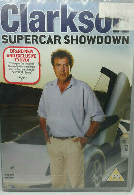 Clarkson - Supercar Showdown (DVD) the stig Top Gear NEW Sealed ☆ FREE FAST POST