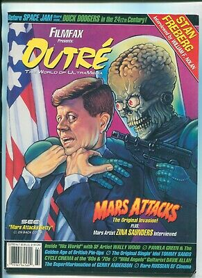 Outre Magazine #7 / Mars Attacks / Duck Dodgers / Wally Wood / Russian Sf Cinema