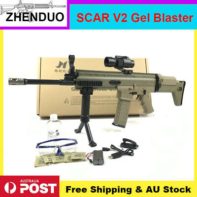 Jinming SCAR V2 Gel Ball Blaster Toy Water Bullets Gel Gun Mag-fed AU Stock