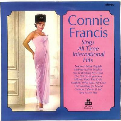 Connie Francis - Sings The All Time International Hits - LP Vinyl Record