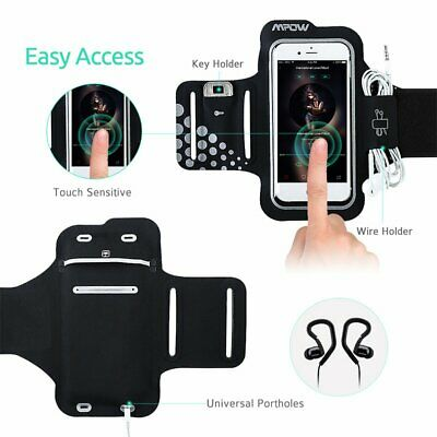 Mpow Sports Gym Armband Arm Case Running Exercise for iPhone Max XR X 8 Samsung