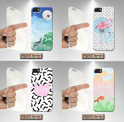 Cover for , Xiaomi,, Adventure, Cat, Silicone, Soft, Animals, Cute, Watercolour