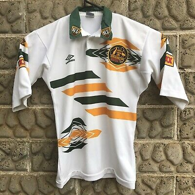 d7913cf1104 Rugby League Australian Kangaroos Jersey Mens Size Medium By Umbro Vintage  90's
