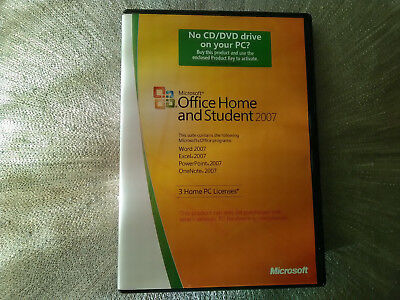 Microsoft Office 2007 Home and Student Edition
