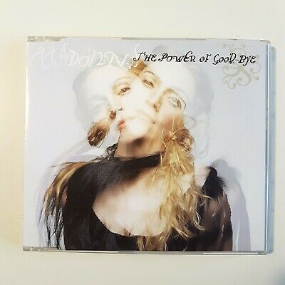 "MADONNA : THE POWER OF GOOD-BYE (edition with 3 x REMIXES 12"") ♦ MAXI-CD ♦"