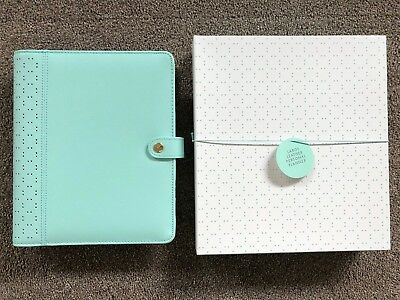 Kikki K MINT large A5 perforated personal planner diary agenda NEW in BOX