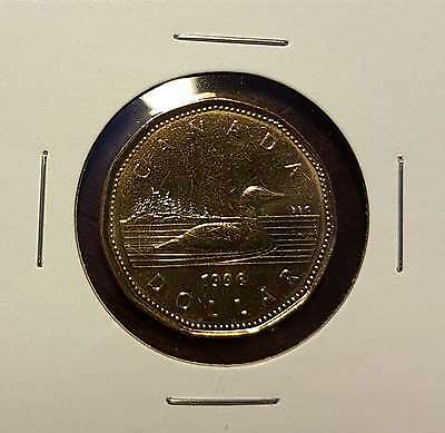 1996 $1 Dollar Canada Loon / Loonie - UNC Mint State From Mint Roll