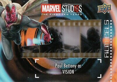 Marvel The First Ten (10) Years, Vision Film Cell Card (Super Short Print) FC-32