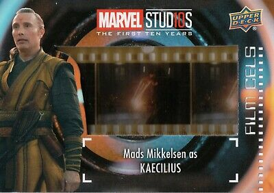 Marvel The First Ten (10) Years, Kaecilius Film Cell Card (Short Print) FC-27