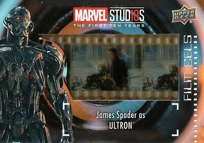 Marvel The First Ten (10) Years, James Spade 'Ultron' Film Cell Card FC-10