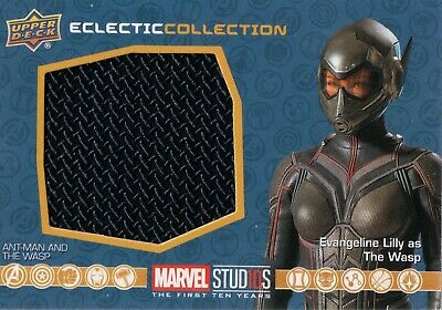 Marvel The First Ten (10) Years, The Wasp Costume Memorabilia Card EC-18