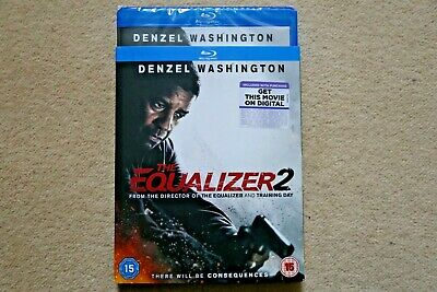 Blu-Ray The Equalizer 2      Brand New Sealed Uk Stock