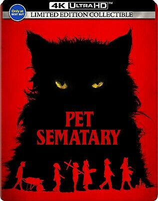 Pet Sematary (2019)(SteelBook)(4K Ultra HD)(UHD)(Dolby Vision)(Jul 9)