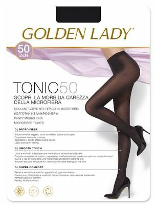 CALZE COLLANT MODA GOLDEN LADY TONIC 50 DEN Mis 4-L LAVAGNA