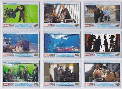 Marvel The First Ten (10) Years, Story of the MCU Chase Card Set MCU1-16