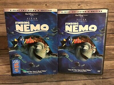 Finding Nemo DVD, 2003, 2-Disc Collector's Edition Set w/slipcover Disney Pixar