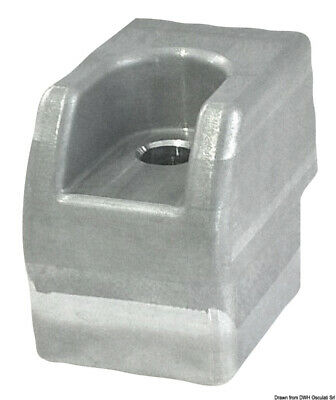 Aluminum Anode For Johnson// Evinrude Outboards /& OMC Sterndrives  393023  436745