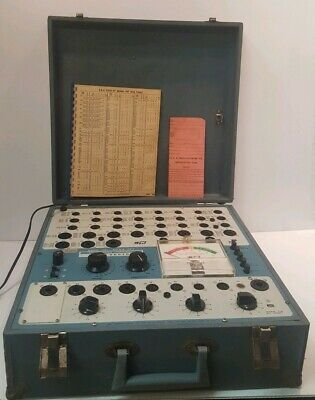 B&K Dyna-Jet Dynamic Mutual Conductance Tube Tester Model 707 - Works