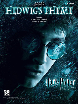 Hedwig's Theme-Sheet Music-5 Finger Piano-From Harry Potter-Brand New On Sale!!
