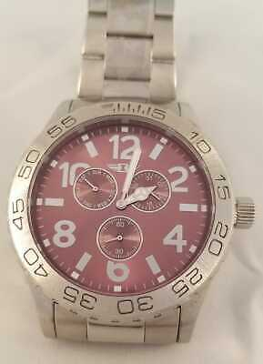 I By Invicta Men's Watch IBI41704-002 Stainless Steel Purple Dial Date Indicator