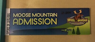 Moose Mountain Mini Golf Mall Of America tickets DONT EXPIRE UNTIL 2021