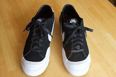low priced 9a747 303d1 NIKE SB Zoom All Court CK QS Cory Kennedy Black White size 13 Skate shoes