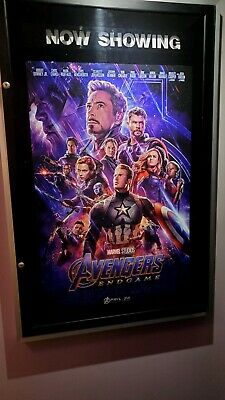 Marvel AVENGERS ENDGAME 2019 Original DS 2 Sided 27X40 REAL Movie Theater Poster