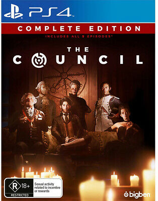 The Council *Adults Only* Playstation 4 PS4 NEW SEALED FAST FREE POSTAGE