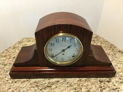 Beautiful Restored Seth Thomas 8 Day Mantle Clock-Working 1920's-All Original!