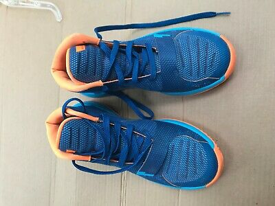 uk availability 3aa6f 539b9 Boys Nike KD Trey 5 III Basketball Shoes 768870 - 404 Blue Orange Youth  SIZE 7Y