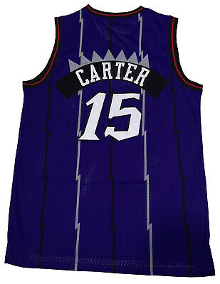 official photos 1a887 38963 VINCE CARTER TORONTO Raptors Jersey Basketball NBA Men Swingman #15 STITCHED