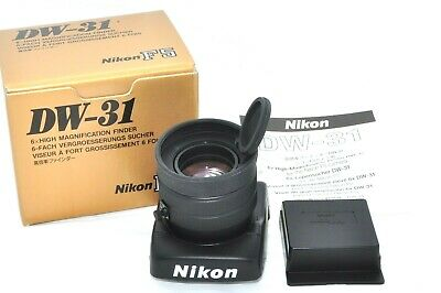 Nikon DW-31 Eyecup 6x Magnification Finder Waist Level with Box from JAPAN