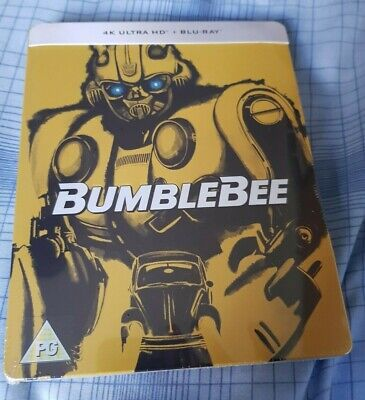 Bumblebee - Limited Edition 4K UHD & Blu-ray Embosssed Steelbook NEW & SEALED!