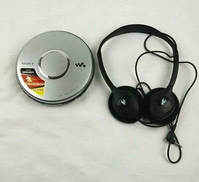 Sony CD Walkman D-EJ011 Portable Player Mega Bass G-Protection Tested Working