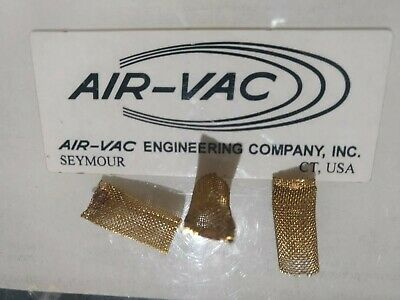 Air-Vac DRS WSF1 Brass Filter Screens used w/ Scavenger Solder Removal