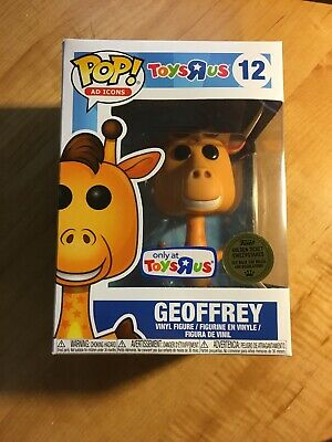 Funko Pop Ad Icons #12 Toys R Us Geoffrey the Giraffe Golden Ticket Sealed