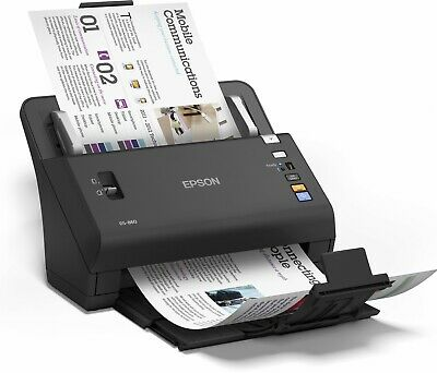 Epson WorkForce DS-860 A4 ADF Duplex Document Scanner Power adapter & USB Cable