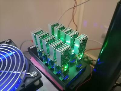 TTBIT BTC SHA256 USB 11GH/s Miner Bitcoin with inbuilt fan and case
