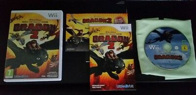 Nintendo Wii HOW TO TRAIN YOUR DRAGON 2 (PAL 2014 RELEASE) VERY RARE *AS NEW*